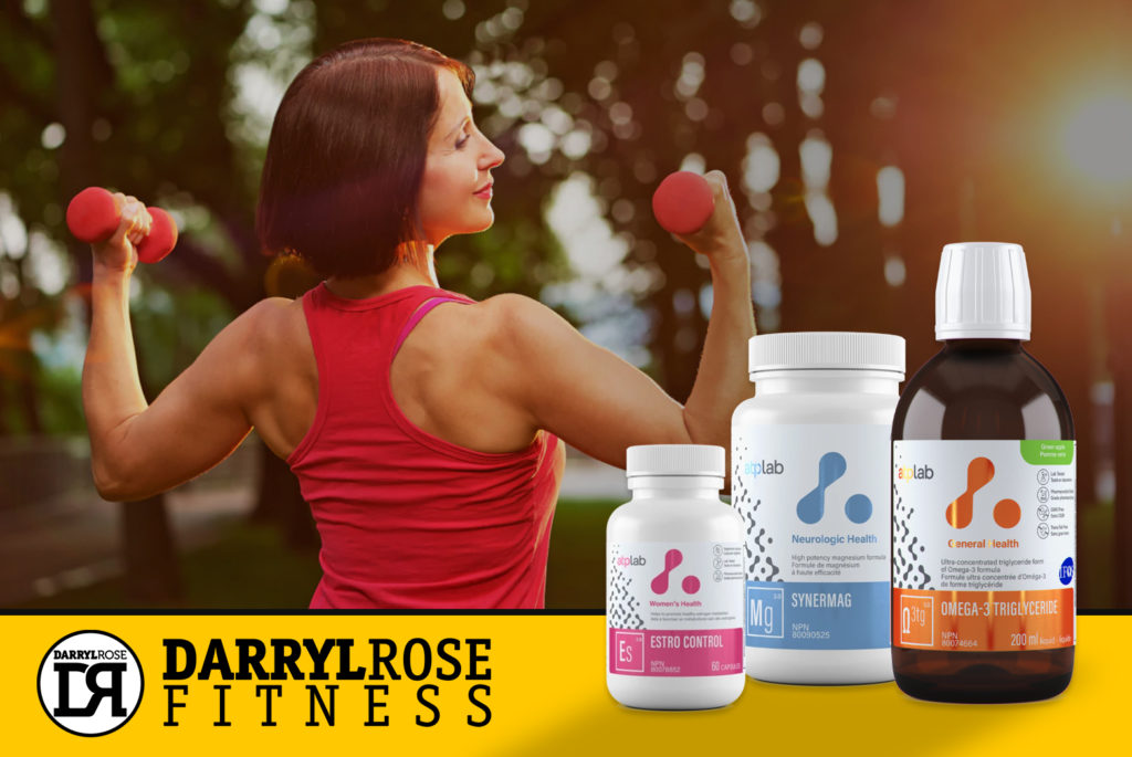 Supplements by Toronto Personal Trainer Darryl Rose Fitness.